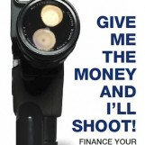 members offer: 20% discount off new book: Give Me the Money and I'll Shoot!