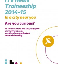 ITV News Traineeship Flyer 2014-5