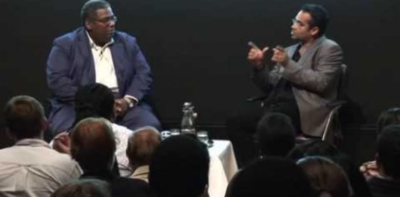 Pat Younge and Krishnan Guru-Murthy in Online Conversation #krishandpat